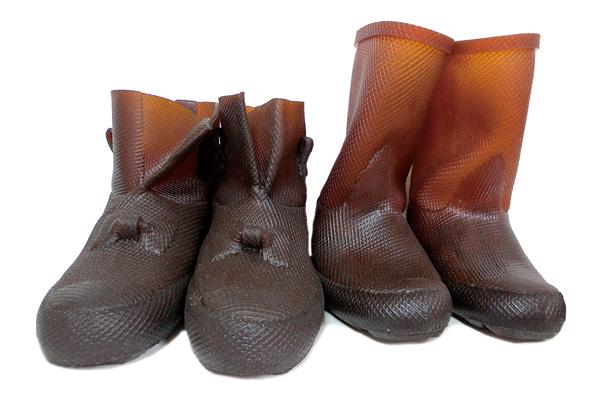 生ゴムの手作り長靴 Kボッコ