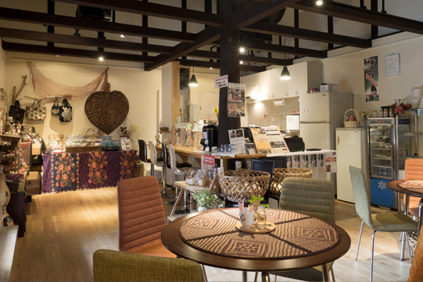 松の湯交流館 十文字カフェ
