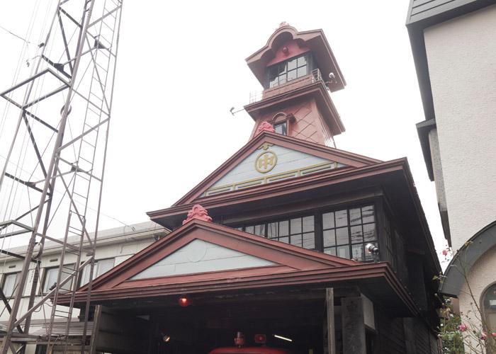 甲徳兵衛町 火の見やぐら館 第三消防部屯所